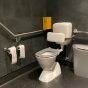 Visitor Centre accessible bathroom 2