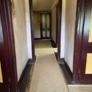 Bldg Trentham inside hallway with rugs