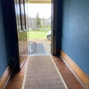 Bldg Junior Medical Officers House hallway and front door