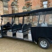 Courtesy Vehicle also used for Commandants Carriage Tour