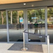 Main Entrance first set of automatic doors