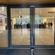 Main Entrance second set of automatic doors
